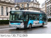Купить «Irisbus Citelis», фото № 30712069, снято 14 марта 2019 г. (c) Art Konovalov / Фотобанк Лори