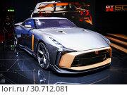 Купить «Nissan GT-R50 by Italdesign», фото № 30712081, снято 10 марта 2019 г. (c) Art Konovalov / Фотобанк Лори