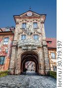 Купить «Old town hall in Bamberg, Bavaria, Germany», фото № 30719197, снято 24 декабря 2012 г. (c) Наталья Волкова / Фотобанк Лори