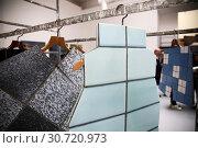 Gardens, Central Pavillion, installation by Kadyrova Zhanna, Ukraine at the 58th International Art Exhibition of the Biennale in Venice, ITALY-07-05-2019. Редакционное фото, фотограф Mirco Toniolo / AGF/Mirco Toniolo / AGF / age Fotostock / Фотобанк Лори