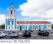 D. Maria I Historical Hotel in Queluz, Lisbon (Portugal). This luxury hotel is built in the former Royal Guard Headquarters (2018 год). Редакционное фото, фотограф Николай Коржов / Фотобанк Лори