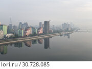 Купить «Pyongyang, capital of the North Korea. DPRK», фото № 30728085, снято 30 апреля 2019 г. (c) Знаменский Олег / Фотобанк Лори