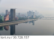 Купить «Pyongyang, capital of the North Korea. DPRK», фото № 30728157, снято 30 апреля 2019 г. (c) Знаменский Олег / Фотобанк Лори