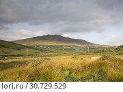Tully Cross, Rinvyle, Connemara National Park, Ireland. Стоковое фото, фотограф Kevin George / age Fotostock / Фотобанк Лори
