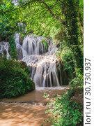 Купить «Krushuna waterfalls in Bulgaria», фото № 30730937, снято 2 июля 2018 г. (c) Sergii Zarev / Фотобанк Лори
