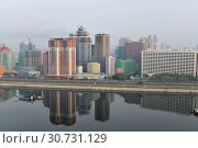 Купить «Pyongyang, capital of the North Korea. DPRK», фото № 30731129, снято 30 апреля 2019 г. (c) Знаменский Олег / Фотобанк Лори