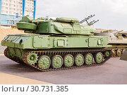 Купить «The antiaircraft Shilka self-propelled emplacement on the embankment to Volgograd», фото № 30731385, снято 27 апреля 2019 г. (c) Владимир Арсентьев / Фотобанк Лори
