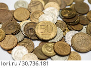Купить «Металлические деньги разных лет», эксклюзивное фото № 30736181, снято 15 апреля 2019 г. (c) Игорь Низов / Фотобанк Лори