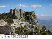 Купить «Castle of Venus in Erice Sicily, Italy», фото № 30738225, снято 17 апреля 2019 г. (c) Алексей Кузнецов / Фотобанк Лори