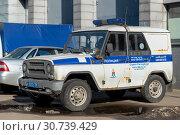 Купить «Автомобиль полиции», эксклюзивное фото № 30739429, снято 30 марта 2019 г. (c) Александр Щепин / Фотобанк Лори