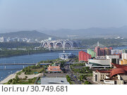 Купить «Pyongyang, capital of the North Korea. DPRK», фото № 30749681, снято 1 мая 2019 г. (c) Знаменский Олег / Фотобанк Лори