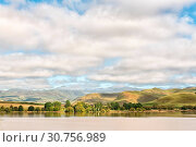 Купить «Lake Curragh between Underberg and Kokstad», фото № 30756989, снято 26 марта 2018 г. (c) easy Fotostock / Фотобанк Лори