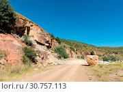 Купить «Rockfall on the Pot River Pass in the Eastern Cape», фото № 30757113, снято 27 марта 2018 г. (c) easy Fotostock / Фотобанк Лори