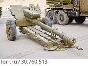 the artillery gun in marching situation (2019 год). Редакционное фото, фотограф Владимир Арсентьев / Фотобанк Лори