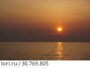 Закат на Камчаике. Стоковое фото, фотограф Дмитрий Кондратьев / Фотобанк Лори