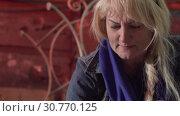 Купить «Close-up Of A Woman Decorating The Surface Of Metal Products», видеоролик № 30770125, снято 16 июля 2020 г. (c) Pavel Biryukov / Фотобанк Лори
