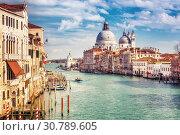 Купить «Venice at sunny evening», фото № 30789605, снято 25 февраля 2013 г. (c) Sergey Borisov / Фотобанк Лори