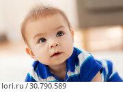 Купить «close up of sweet little asian baby boy», фото № 30790589, снято 5 мая 2018 г. (c) Syda Productions / Фотобанк Лори