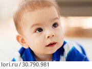 Купить «close up of sweet little asian baby boy», фото № 30790981, снято 5 мая 2018 г. (c) Syda Productions / Фотобанк Лори