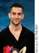 Купить «Italian singer Mahmood with in hand the Composer Award during the tv show Che tempo che fa, Milan, ITALY-19--05-2019.», фото № 30794061, снято 19 мая 2019 г. (c) age Fotostock / Фотобанк Лори