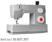 Modern electric sewing machine. Стоковое фото, фотограф Сергей Петерман / Фотобанк Лори