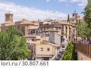 Купить «Толедо, Испания. Живописный вид города с колокольнями церквей», фото № 30807661, снято 25 июня 2017 г. (c) Rokhin Valery / Фотобанк Лори