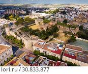 Купить «View of Alcazar of Jerez de la Frontera», фото № 30833877, снято 19 апреля 2019 г. (c) Яков Филимонов / Фотобанк Лори