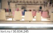 Купить «Video of spools of white thread on knitting device», видеоролик № 30834245, снято 25 мая 2019 г. (c) Гурьянов Андрей / Фотобанк Лори