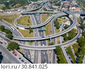 Купить «Highway interchange in Barcelona», фото № 30841025, снято 24 мая 2018 г. (c) Яков Филимонов / Фотобанк Лори