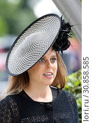 Royal Ascot, Grossbritannien, Portrait of HRH Princess Beatrice (2018 год). Редакционное фото, агентство Caro Photoagency / Фотобанк Лори