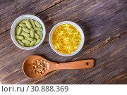 Различные пищевые добавки. Стоковое фото, фотограф Nunik Varderesyan / Фотобанк Лори