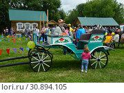 Праздник Сабантуй в Коломенском парке в Москве (2015 год). Редакционное фото, фотограф lana1501 / Фотобанк Лори