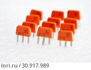 Купить «КТ315Б - советский транзистор, изготовленный по планарно-эпитаксиальной технологии», эксклюзивное фото № 30917989, снято 14 января 2018 г. (c) Dmitry29 / Фотобанк Лори