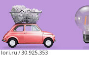 Купить «Idea delivery, creative process», видеоролик № 30925353, снято 23 мая 2019 г. (c) Сергей Петерман / Фотобанк Лори