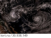 Купить «Cyclone over planet Earth. Elements of this image are furnished by NASA.», фото № 30938149, снято 28 января 2020 г. (c) easy Fotostock / Фотобанк Лори