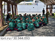 Купить «Pyongyang, North Korea. Museum of Victory», фото № 30944093, снято 2 мая 2019 г. (c) Знаменский Олег / Фотобанк Лори