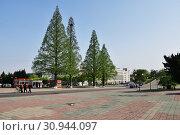 Купить «Pyongyang, North Korea», фото № 30944097, снято 29 апреля 2019 г. (c) Знаменский Олег / Фотобанк Лори