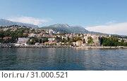 Купить «Herceg Novi ancient town in Kotor bay in Montenegro», видеоролик № 31000521, снято 21 июня 2019 г. (c) Володина Ольга / Фотобанк Лори