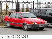 Купить «Volkswagen Passat», фото № 31001085, снято 16 сентября 2012 г. (c) Art Konovalov / Фотобанк Лори