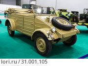 Купить «Volkwagen Kuebelwagen Type 82», фото № 31001105, снято 1 сентября 2016 г. (c) Art Konovalov / Фотобанк Лори