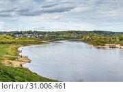 Купить «Oka river in Tarusa, Russia», фото № 31006461, снято 4 мая 2019 г. (c) Boris Breytman / Фотобанк Лори