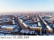 residential areas in Barnaul. Стоковое фото, фотограф Jan Jack Russo Media / Фотобанк Лори