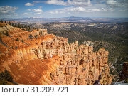 Купить «Natural rock formation of the famous site of Bryce Canyon National Park», фото № 31209721, снято 25 марта 2018 г. (c) easy Fotostock / Фотобанк Лори