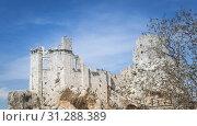 Ruine of castle in zuheros in spain. Стоковое фото, фотограф YAY Micro / easy Fotostock / Фотобанк Лори