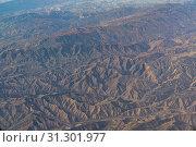 Купить «An aerial view of California San Andreas, California, USA.», фото № 31301977, снято 30 марта 2018 г. (c) easy Fotostock / Фотобанк Лори