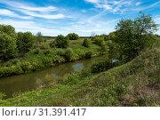 Река Выша (Пензенская область) Стоковое фото, фотограф Владимир Федечкин / Фотобанк Лори