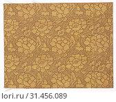 Textile Fragment, 1800s. Japan, 19th century. Silk, average: 22.3 x 17.5 cm (8 3/4 x 6 7/8 in.) (2019 год). Редакционное фото, фотограф Liszt Collection / age Fotostock / Фотобанк Лори