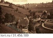 Bridges in Landkreis Sächsische Schweiz-Osterzgebirge, History of Lauenstein, 1903, Landkreis Sächsische Schweiz-Osterzgebirge, Lauenstein, Germany (2019 год). Редакционное фото, фотограф Liszt Collection / age Fotostock / Фотобанк Лори