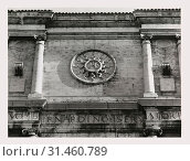 Abruzzo L'Aquila L'Aquila Collegiate complex S. Bernardino, Oratory, this is my Italy, the italian country of visual history, Several views of entire oratory... (2018 год). Редакционное фото, фотограф Liszt Collection / age Fotostock / Фотобанк Лори