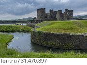 Купить «Caerphilly castle, wales.», фото № 31470897, снято 23 июля 2019 г. (c) age Fotostock / Фотобанк Лори